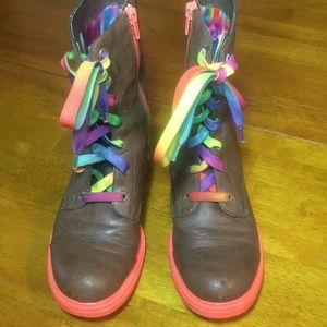 Skechers Brown Boot Girls Size  3